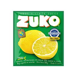 Jugo en Polvo Limon Dulce Sobre de 25 Gr Zuko