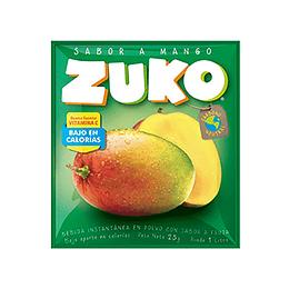 Jugo en Polvo Mango Sobre de 25 Gr Zuko