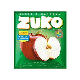 Jugo en Polvo Manzana Sobre de 25 Gr Zuko
