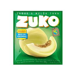 Jugo en Polvo Melon Tuna Sobre de 25 Gr Zuko