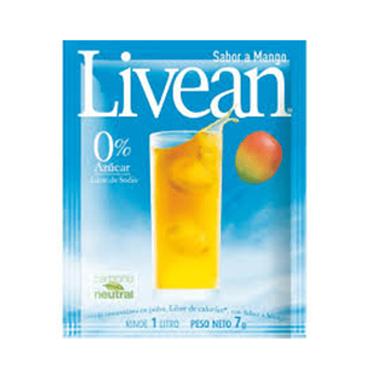 Jugo en Polvo Mango Sobre de 7 Gr Livean