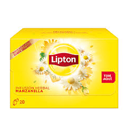 Infusion Manzanilla 20 Bols Lipton