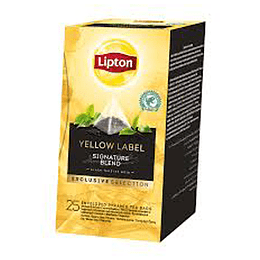 Te Piramide Yellow Label 25 Bols Lipton