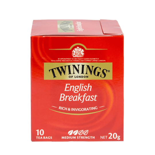 Te English Breakfast 10 Bolsitas Twinings