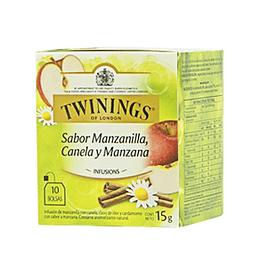Infusion Manzanilla, Canela y Manzana 10 Bolsitas Twinings