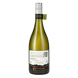 Vino Blanco Chardonnay Reserva Botella 750 Ml Ventisquero