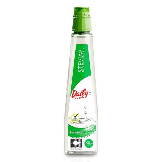 Endulzante Stevia Liquido 270 Ml Daily