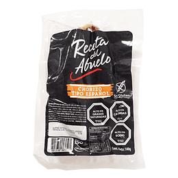 Chorizo Español Tipo Riojano 140 Gr Pf