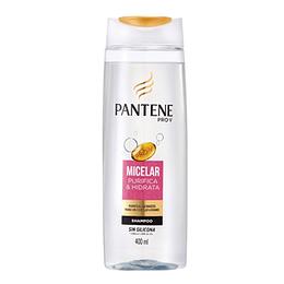 Shampoo Sin Sal Micelar Purifica&Hidrata 400 Ml Pantene