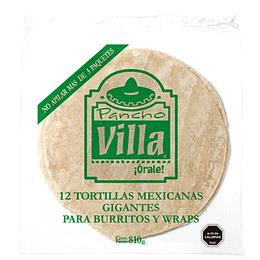 Tortilla Wrap 28 Cm Paquete 12 Unidades