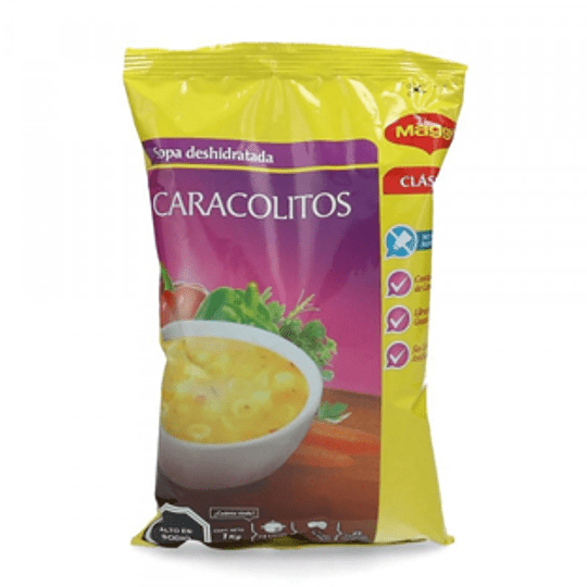 Sopa Caracolitos 1 Kg Maggi