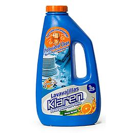 Detergente en Polvo Lavavajillas Aroma Naranja 1 kg Klaren