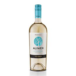 Vino Blanco Sauvignon Blanc Aliwen Reserva Botella 750 Ml Undurraga
