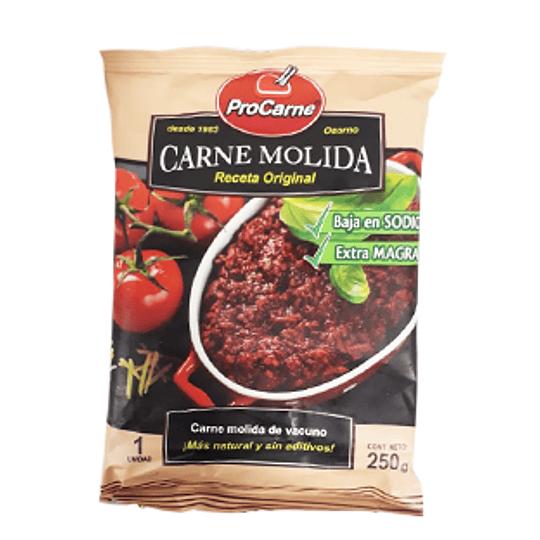 Carne Molida Congelada Extra Magra Tártaro 250 Gr ProCarne