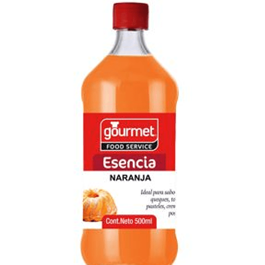 Esencia De Naranja 500 Ml Gourmet