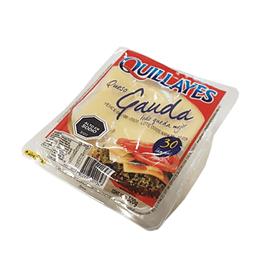 Queso Gauda Laminado Display 30 laminas de 500 Gr Quillayes