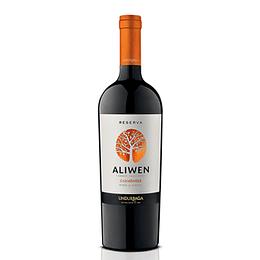 Vino Tinto Carmener Aliwen Reserva 750 Ml Undurraga