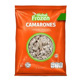 Camaron Ecuatoriano 36/40 Crudo Con Casc 1 Kg Global Frozen
