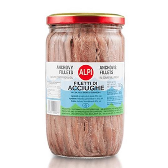 Anchoas Filetes 140 Gr Alpi