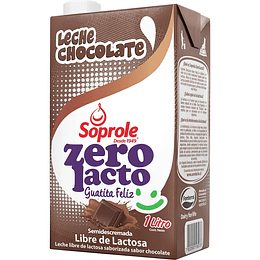 Leche Sabor Chocolate ZeroLacto 1 Lt Soprole
