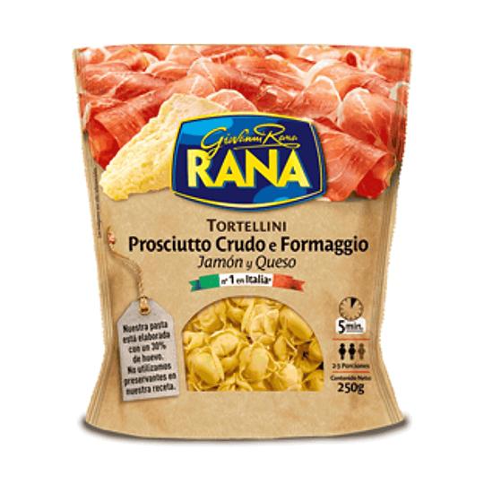 Pasta Fresca Tortellini Jamon y Queso 250 Gr Rana