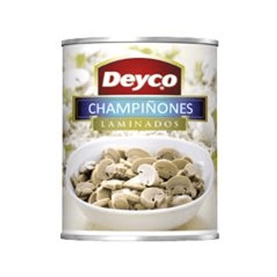 Champiñones Laminados 2,84 Kg Deyco