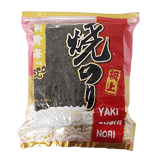 Alga Marina Yaki Sushi Nori 280 Gr Bolsa de 100 Hojas