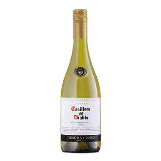 Vino Blanco Chardonnay Reserva 750 Ml Casillero del Diablo
