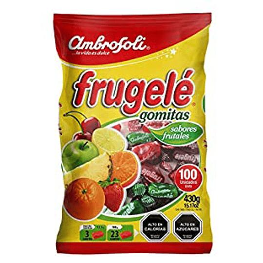 Gomitas Sabores Frutales Frugele Bolsa 430 Gr Ambrosoli