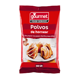 Polvos De Hornear 500 Gr Gourmet