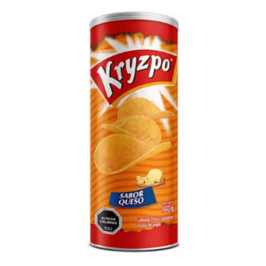 Papas Fritas Sabor Queso 130 Gr Kryzpo