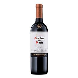 Vino Tinto Carmenere Reserva Botella 750 Ml Casillero del Diablo