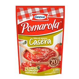Salsa de Tomate Casera Pomarola 200 Gr Carozzi