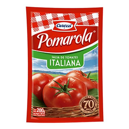 Salsa de Tomate Italiana Pomarola 200 Gr Carozzi