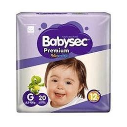 Pañal Niño Premium Grande 20 Und Babysec