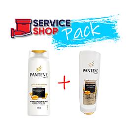 Pack Shampoo HE 400 Ml Pantene + Acondicionador HE 400 Gr Pantene