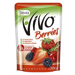 Mermelada Berries Unidad 200 Gr Vivo