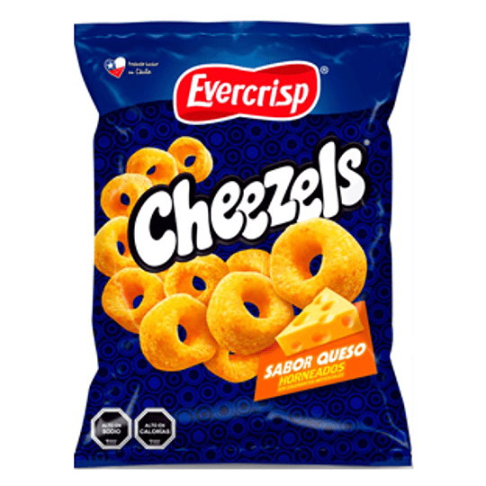 Cereal Horneado Sabor Queso 270 Gr Cheezels