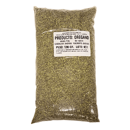 Oregano Entero 500 Gr