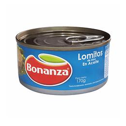 Atun Lomitos Aceite 170 Gr Bonanza