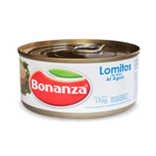 Atun Lomitos Agua 170 Gr Bonanza