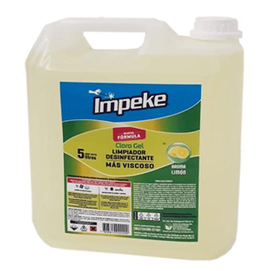 Cloro Gel Aroma Limon Bidon 5 Lts Virutex