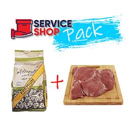 Pack Sobrecostilla Vacuno Cat V Pieza 1 Kg + Carbon Especial 2,5 Kg