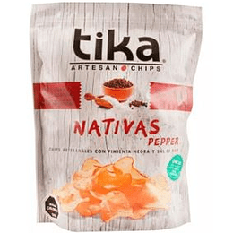 Papas Fritas Nativas Pepper 180 Gr Tika