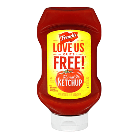 Ketchup Unidad 567 Gr French's