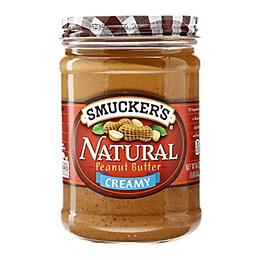 Mantequilla de Mani Natural Creamy Unidad 454 Gr Smucker's
