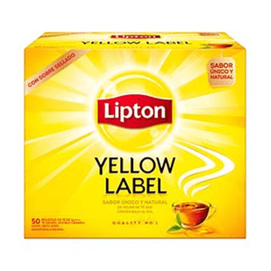 Te Yellow Label Caja de 50 Bolsitas Lipton