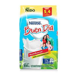 Leche en Polvo Semidescremada Nido Buen Dia 700 Gr Nestle