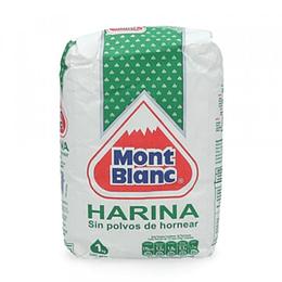 Harina Sin Polvo 1 Kg Mont Blanc