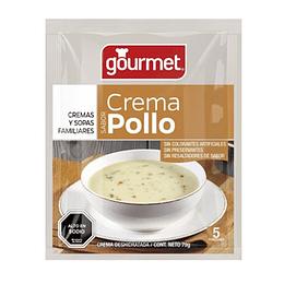 Crema de Pollo 72 Gr Gourmet